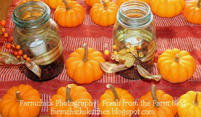 Fresh From The Farm Simple Cute Fall Table Decorations