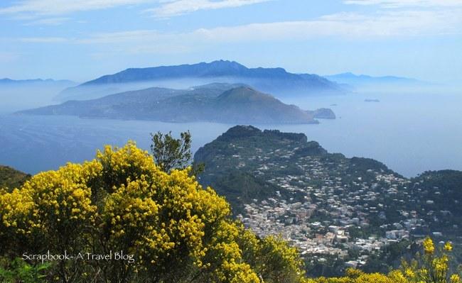 Capri view Italy