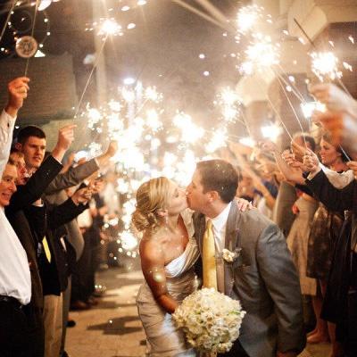 VIP Sparklers, wedding sparklers