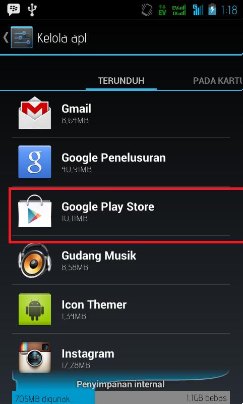 """Cara Mengatasi  """"Sayangnya Google Play Store Telah Berhenti"""" di Android"""