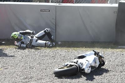 Tak Hanya Jatuh, Crutchlow Juga Tak Punya Kecepatan yang Baik di Sachsenring
