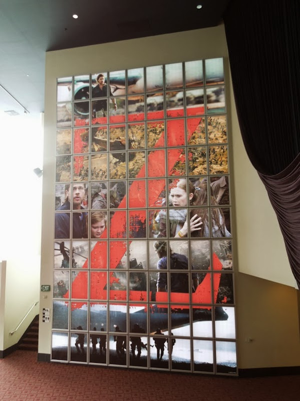 World War Z movie poster wall