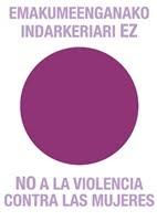 NO a la violencia.