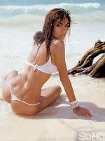 Andrea Serna en bikini, revista Soho