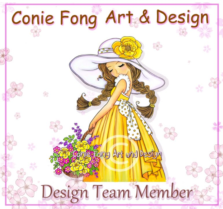 Proud to design for Conie Fong