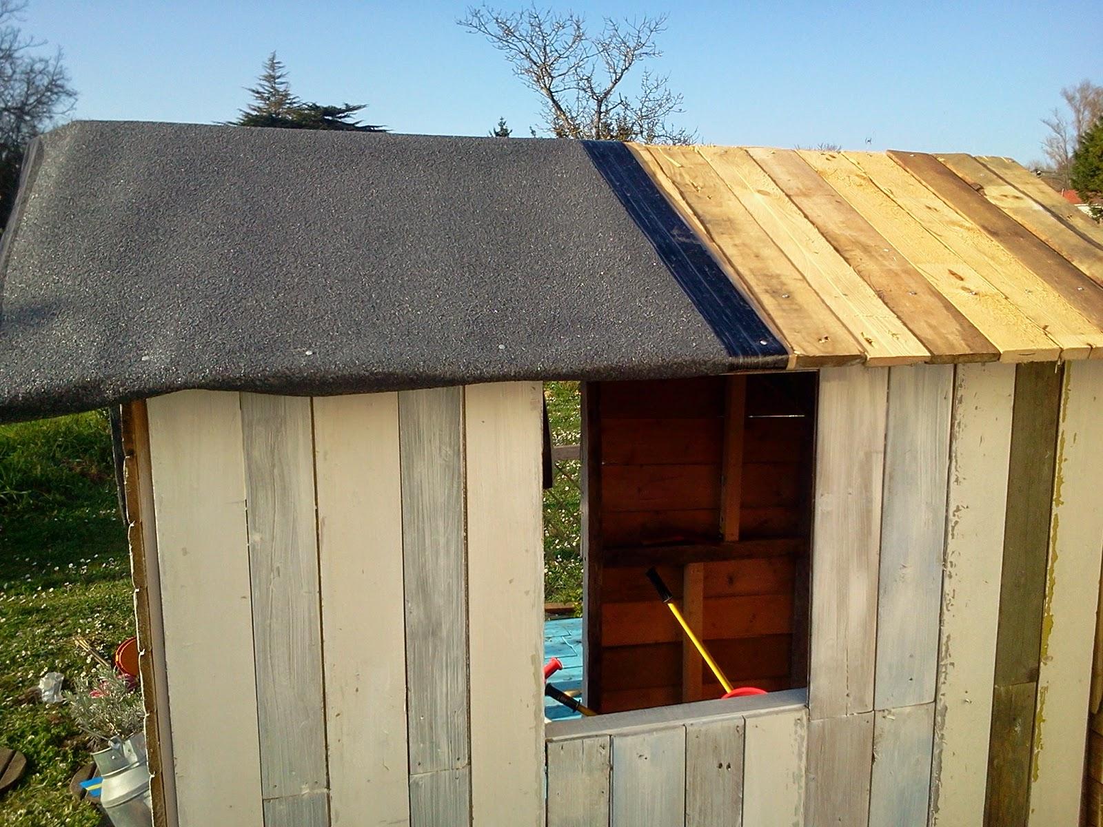 lili joue maman bricole cabane de jardin diy. Black Bedroom Furniture Sets. Home Design Ideas