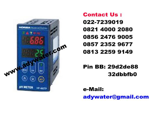 Jual PH Meter Industri HP-480TP - Jual PH Meter Merk Horiba
