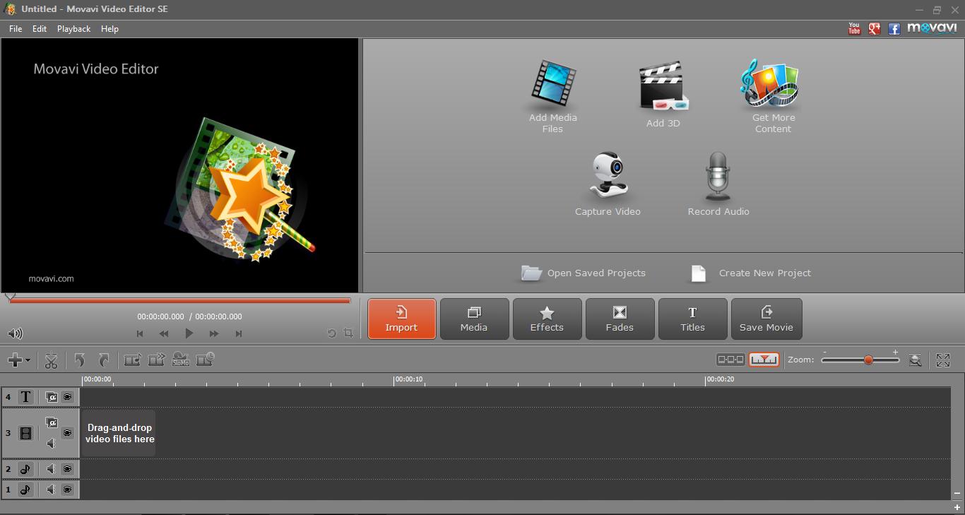 скачать программу movavi video editor андроид