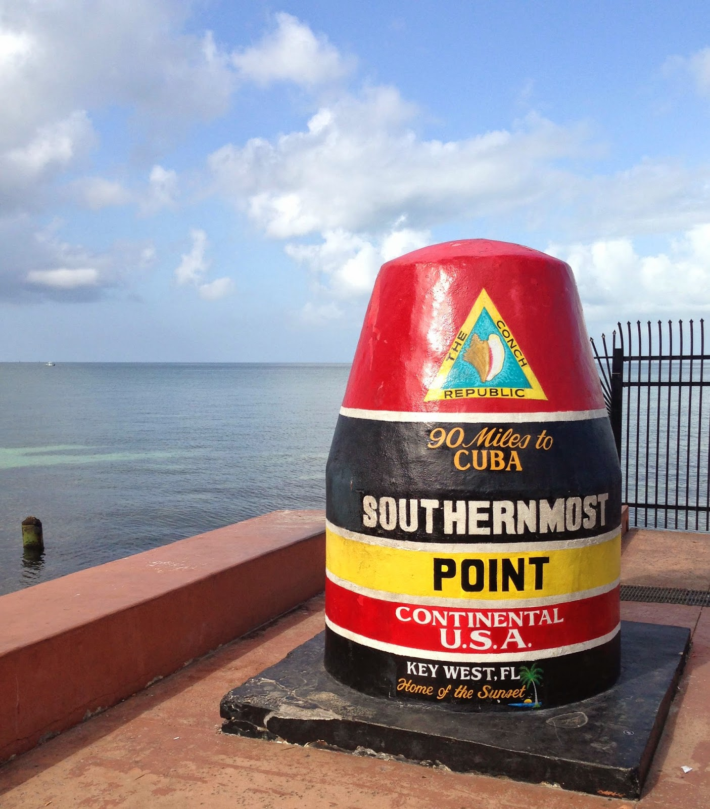 Southernmost Point - Key West | The Twisted Horn