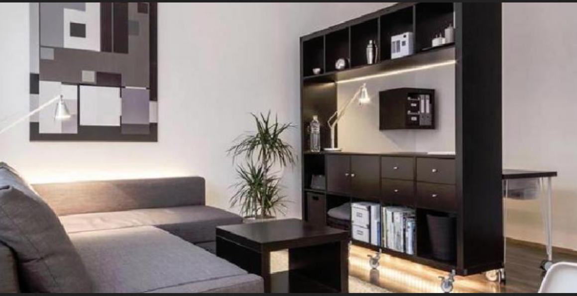 Desain apartemen tipe studio yang mewah dan elegan for Desain apartemen studio 21m