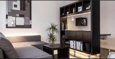 desain apartemen tipe studio kecil