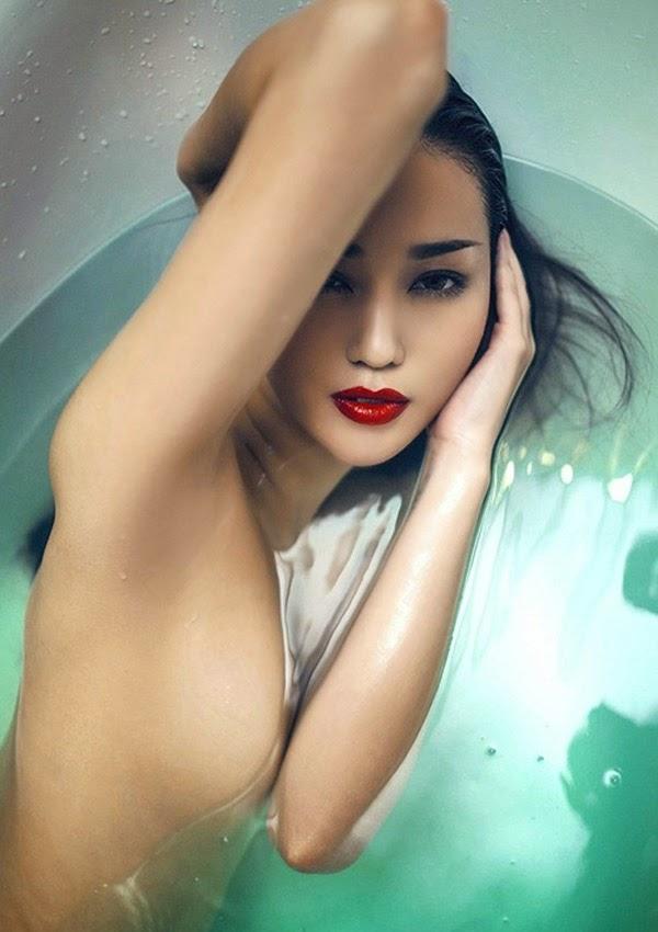 Ảnh gái xinh Việt khoe thân để nổi tiếng 23