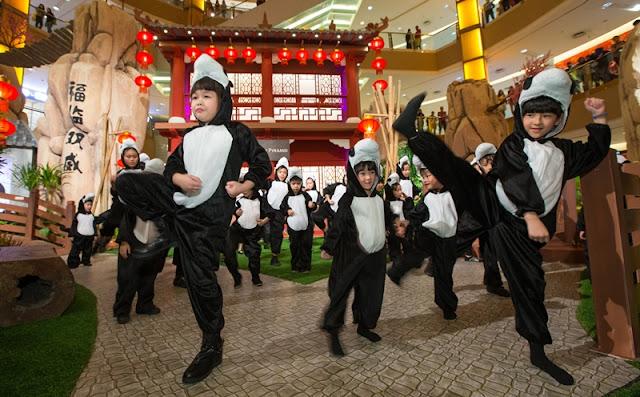 Po from Kungfu Panda 3, BountiFU Spring Celebration, Po Kungfu Panda, Kungfu Panda 3, Sunway Pyramid, chinese new year, cny 2016, kungfu panda kids, kungfu kids, Panda Village, Panda Family