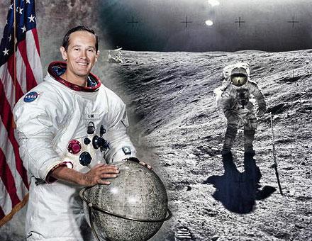 Enamorados de cristo astronauta que camin en la luna for Que luna estamos ahora