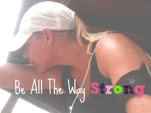 Be All The Way Strong, Heart Shaped Sweat, Fit Challenge for May