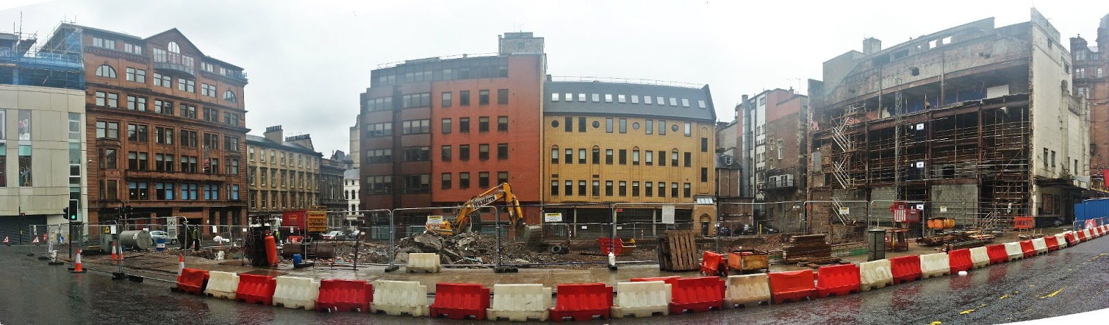 Demolished Odeon cinema, Glasgow