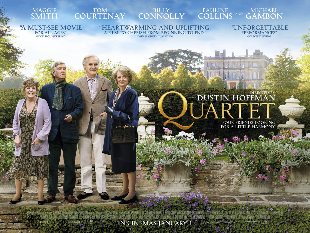 Quartet with Maggie Smith directed by Dustin HoffmanQuartet Movie