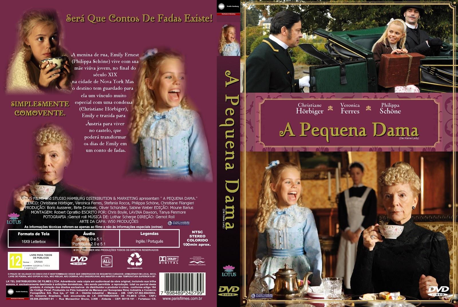 Capa DVD A Pequena Dama