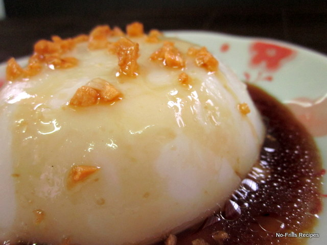 Sweet And Savoury Steamed Rice Cake