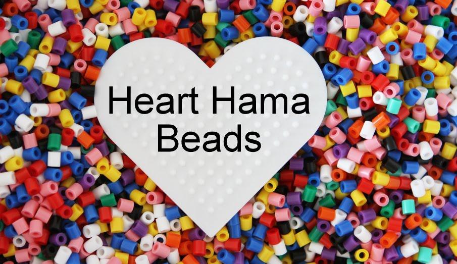 Heart Hama Beads
