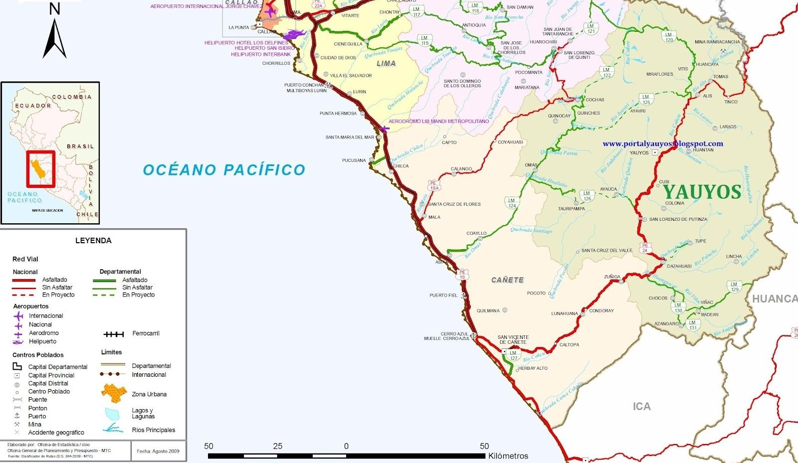 Portal yauyos noticias de la provincia de yauyos c mo - La maquinista como llegar ...