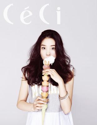 Yoon So Hee - Ceci Magazine July Issue 2013