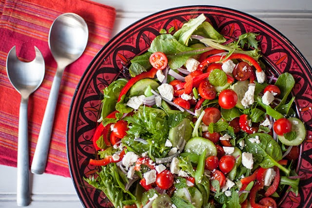 Greek Salad: simplelivingeating.com