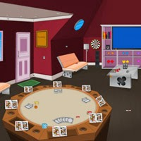 Poker house escape video walkthrough