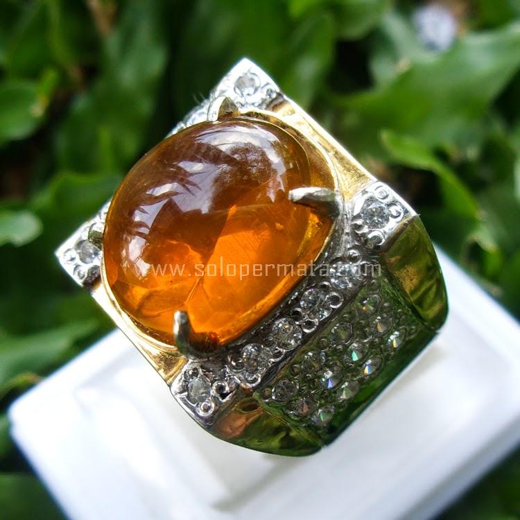 Cincin Batu Permata Fire Opal - SP563