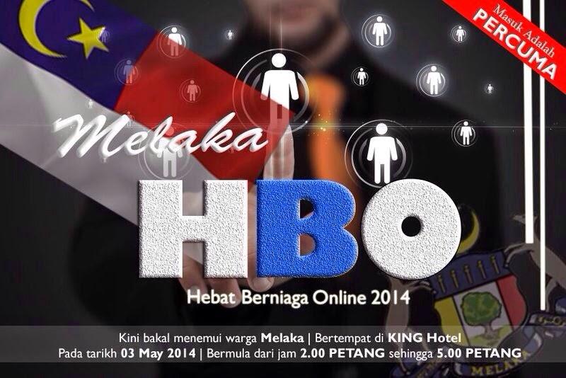 Hebat Berniaga Online (HBO) sekarang ke Melaka