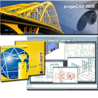 ProgeCAD 2009 Professional, Raster image embedding, raster-to-vector software