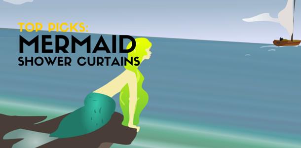 Best Mermaid Shower Curtains