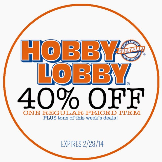 photo regarding Hobby Lobby Coupon Printable known as pastime foyer coupon january 2015