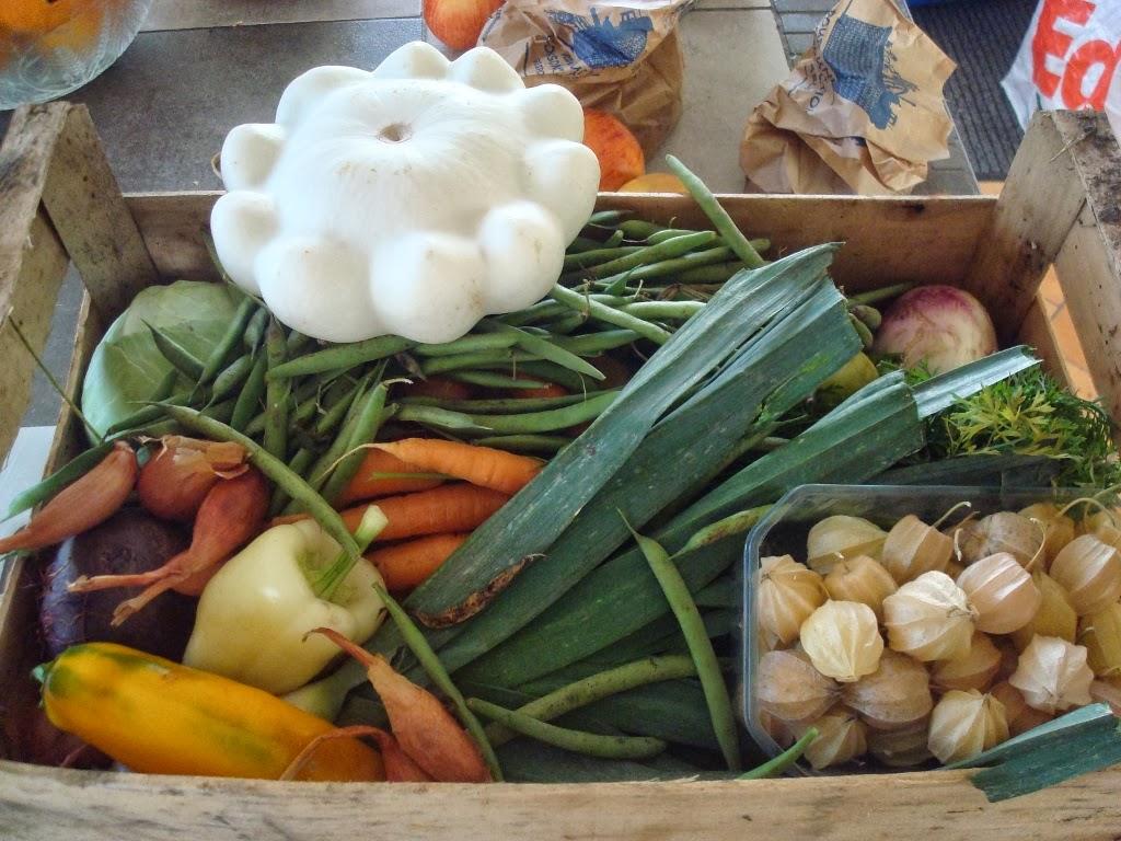 Food addict les jardins de la soloire 5 - Cuisiner patisson blanc ...