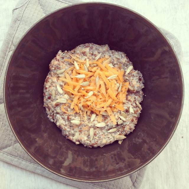 porridge carottes chia lin