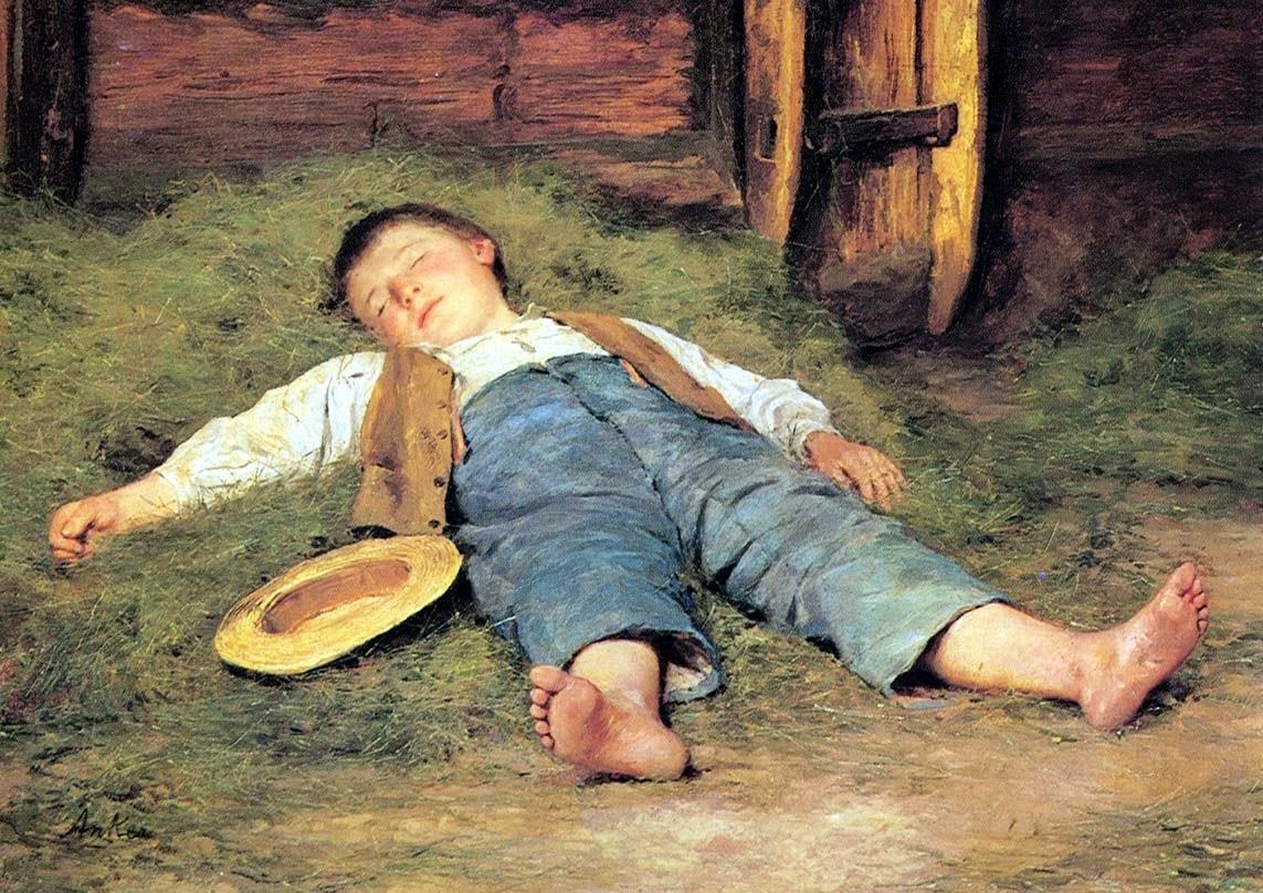 children genre,albert anker paintings,painting review