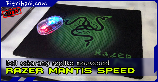 (#sayajual) Promosi Replika Razer Mantis Speed Mousepad