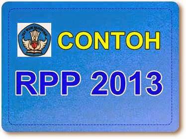 CONTOH RPP BAHASA INGGRIS KURIKULUM 2013