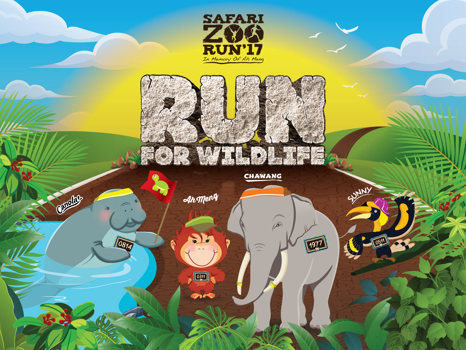 10% OFF Safari Zoo Run 2017 Registration Rates. Code: SZR2017BGPSAKUHARU10