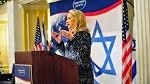 Hillary Clinton 'concerned over Israeli democracy'