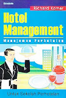 toko buku rahma: buku HOTEL MANAGEMENT, pegarang richard komar, penerbit grasindo