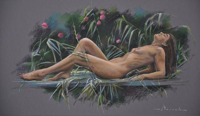 D.W.C. Pastel - Artist Johan Messely