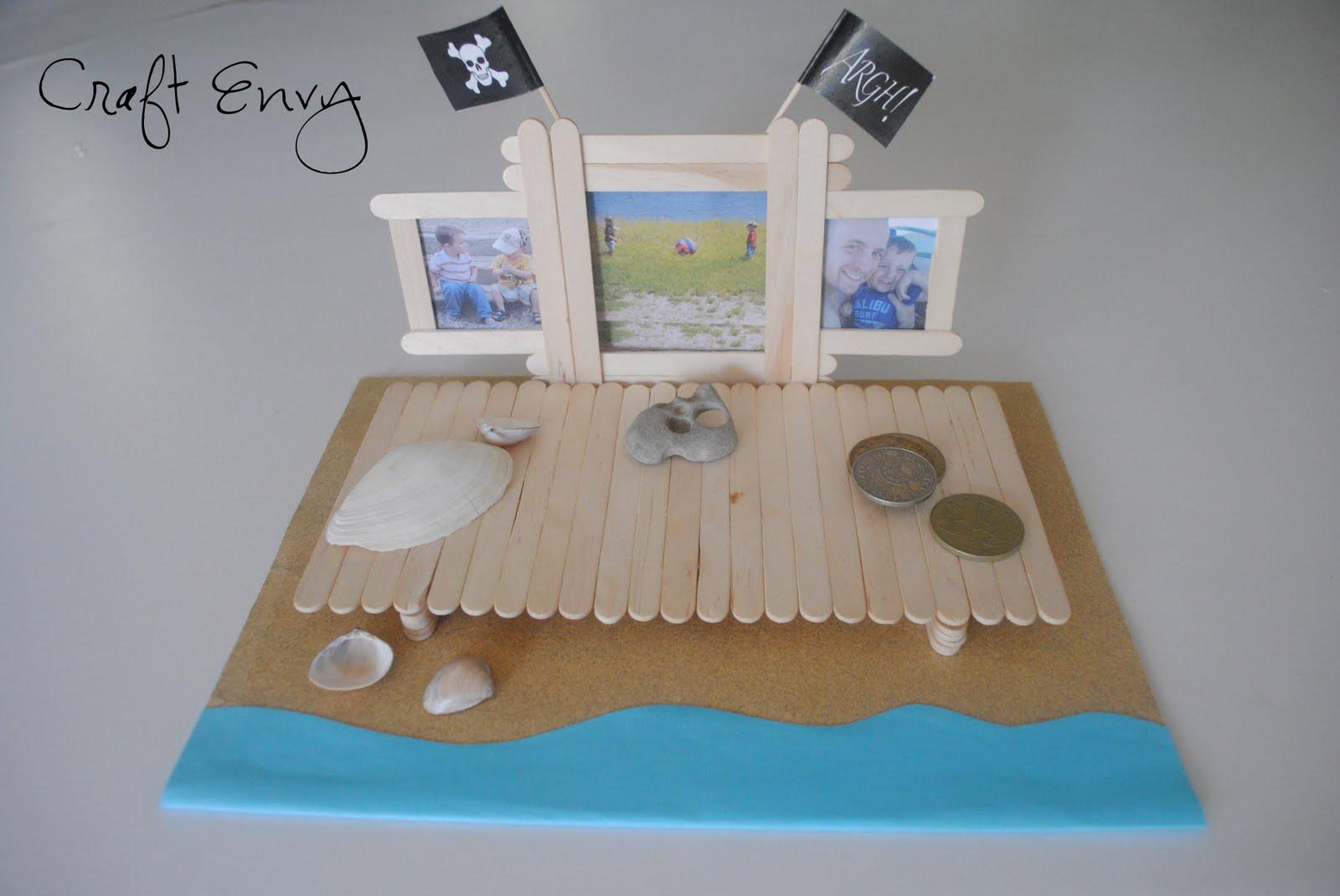 Craft Envy: Boardwalk Picture Frame