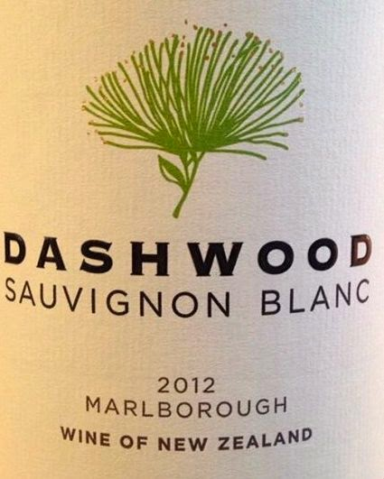 Dashwood Sauvignon Blanc wine label