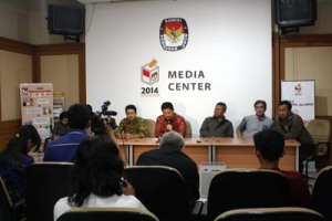 Press Conference KPU RI