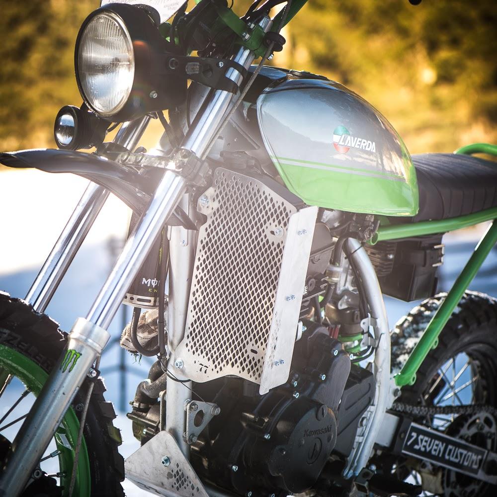 Kawasaki KLR 650 Tracker