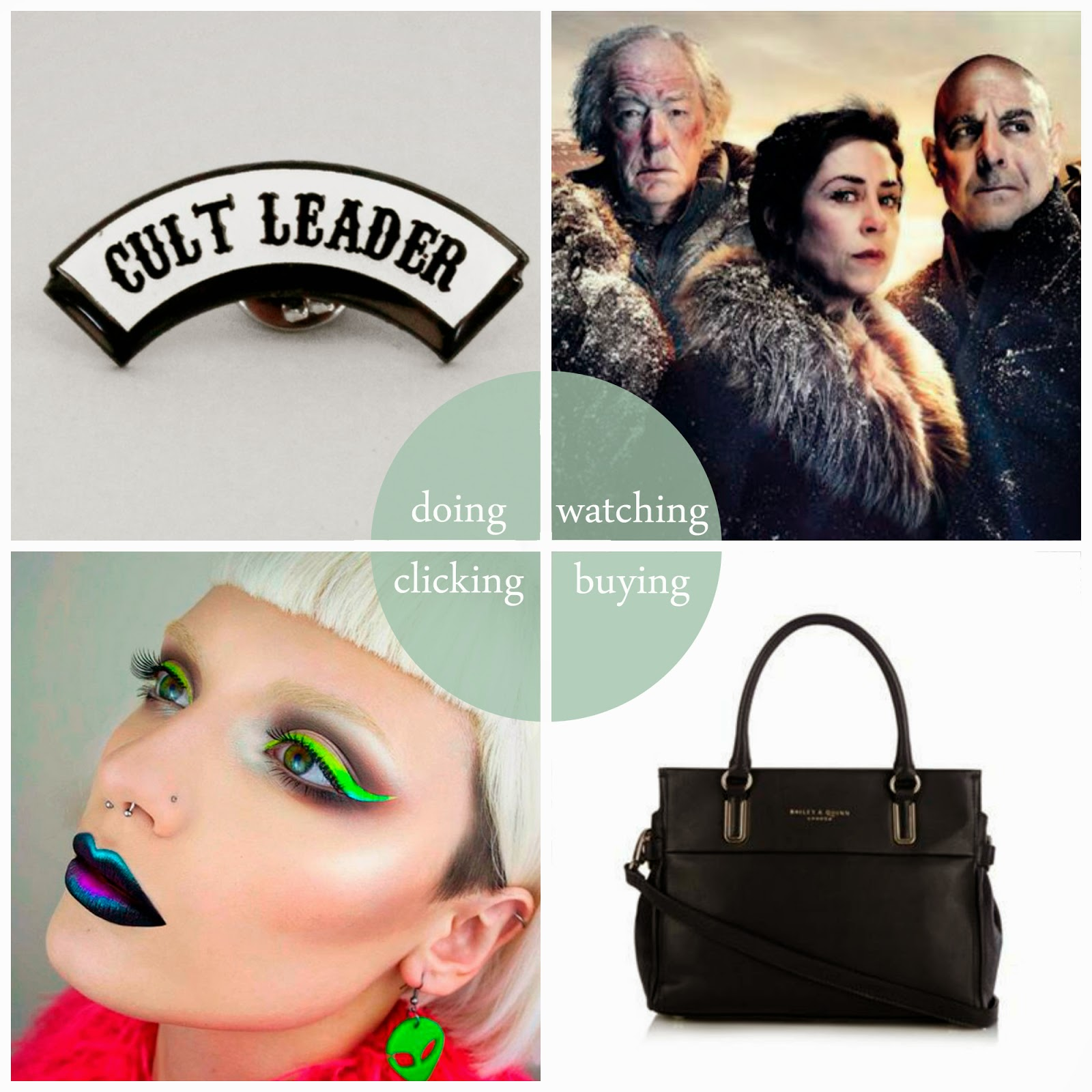 Round Up, best bits, monthly favourites, Scottish Bloggers, Meditation, cult, Fortitude, Bailey & Quinn, Instagram favourites