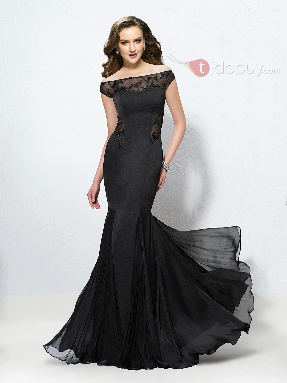 Fashion and Pinkheart I would wear Tide elegant prom