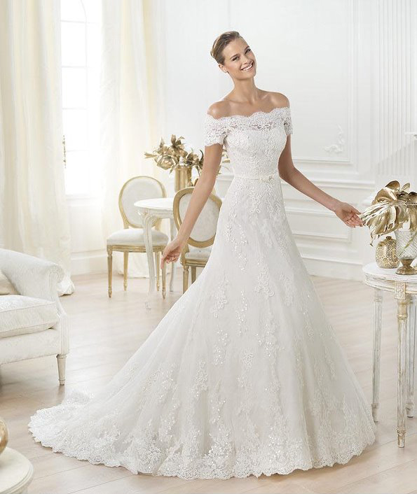 Wedding Dress Flat