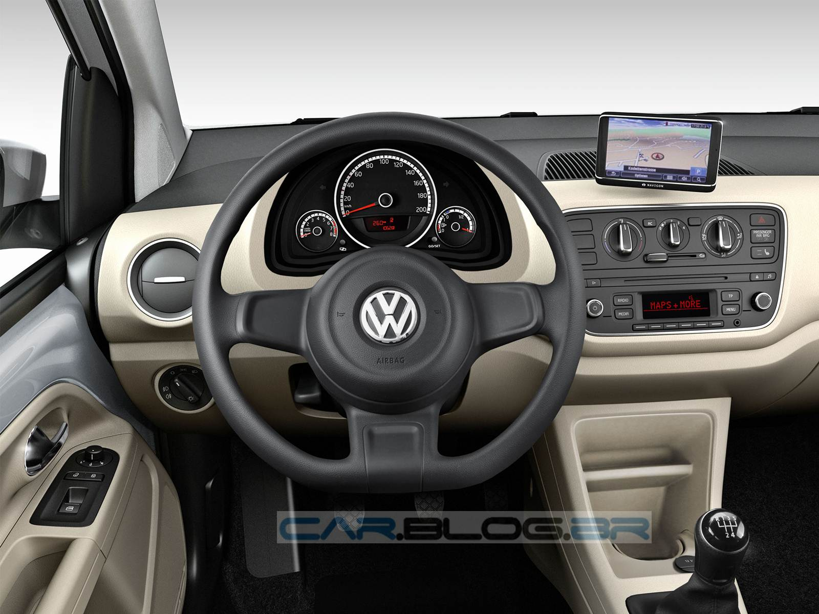 Volkswagen Up! -0 versão Move-Up - interior